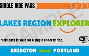 Lake Region Explorer Example SIngle Ride Pass