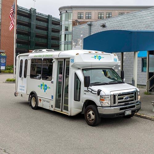 RTP Van at Department Of Veterans Affairs Portland Maine